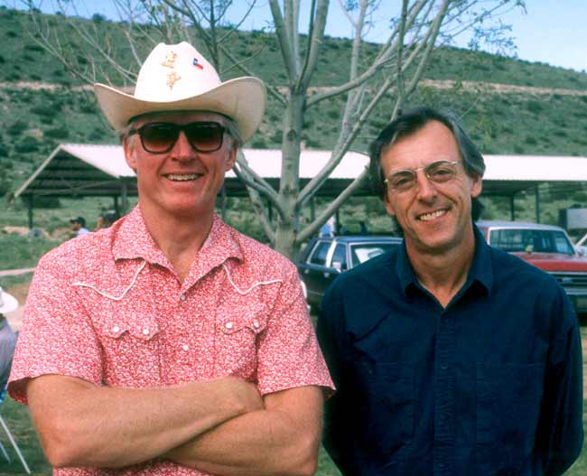 Byron Berline and John Hickman, 1991