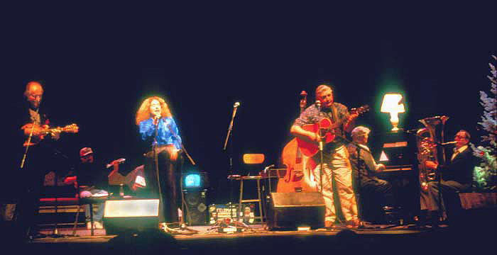Creme Brule, performing in Santa Barbara at the Lobero Theater.